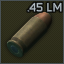 .45 ACP Lasermatch FMJ