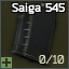 AK-74 ve türevleriyle uyumlu 10 mermilik 5.45x39 Saiga 545 şarjör