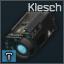 Zenit 2P Klesch flashlight + laser designator