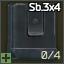 Cargador de 4 cartuchos Sb. 3 para MC 20-01 y TOZ-106 de Cal. 20