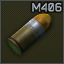 40x46 mm M406 (HE)