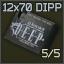 5 Stk. 12 x 70 DIPP Munitionspackung