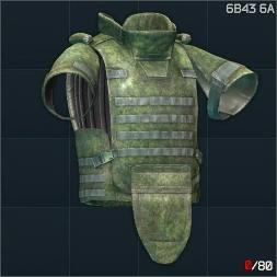 6B43 Zabralo Sh 6A防弹衣