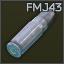 7.62x25mm TT FMJ43