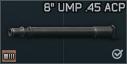 """Vector .45 ACP için 8"""" uzunluğunda namlu"""