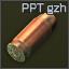 Munición PPT gzh de 9x18 mm PM