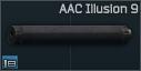 AAC Illusion 9 9x19mm silencer