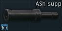 ASh-12 12.7x55 tactical sound suppressor