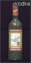 Egy üveg Tarkovskaya vodka