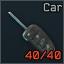 Folding car key