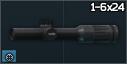 EOTech Vudu 1-6x24 riflescope
