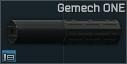 Réducteur de son Gemtech ONE 7,62x51