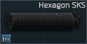 Hexagon SKS 7.62x39 susturucu
