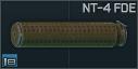 KAC QDSS NT-4 Siyah 5.56х45 susturucu