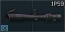 KMZ 1P59 3-10x riflescope