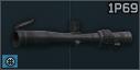 KMZ 1P69 3-10x步枪瞄准镜