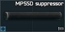 MP5SD 9x19 silencer