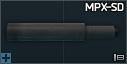 MPX-SD 9 x 19 entegre susturucu