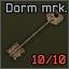 Dorm room 314 marked key