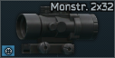 Óptica Monstrum Compact Prim Scope 2x32