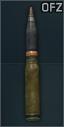 Munition 30x160 mm OFZ