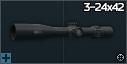 March Tactical 3-24x42 FFP optical scope