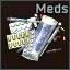Un montón de medicamentos