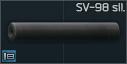 SV-98 7.62x54R sound suppressor
