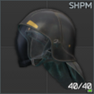SHPM Firefighter's helmet
