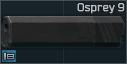 SilencerCo Osprey 9 9x19mm sound suppressor