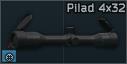 VOMZ Pilad 4x32 riflescope