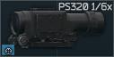 Valday PS-320 1x/6x scope