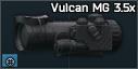Noční puškohled Vulcan MG 3,5 x