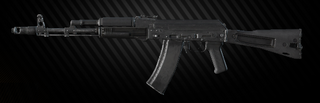 AK-74M 5.45x39 assault rifle