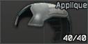 Caiman Hybrid Ballistic Applique (black)