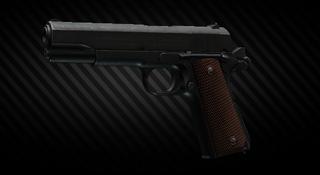 Pistola Colt M1911A1 del .45 ACP
