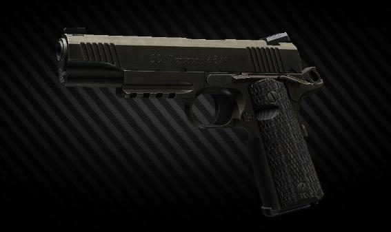 Colt M45A1 .45 ACP pistol