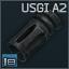 AR-15 için Colt USGI A2 5.56x45 alev gizleyen