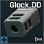 Glock Double Diamond flash hider