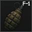 F-1 hand grenade