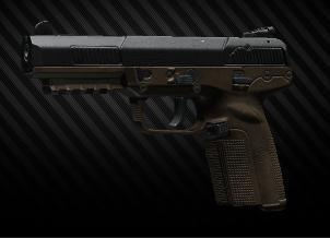 FN Five-seveN MK2 5,7x28 pisztoly, FDE színű