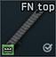 """Направляющая """"FN top rail"""" для штатного ресивера P90"""