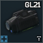 Glock GTL 21 tactical flashlight with laser