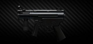 HK MP5K 9x19 submachine gun
