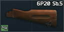 Dřevěná pažba AK-74 Izmash (6P20 Sb.5)