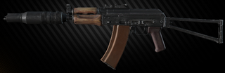 AKS-74UB 5.45x39 assault rifle