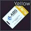TerraGroup Labs keycard (Yellow)