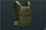 LBT 6094A 轻型插板胸挂 (olive)