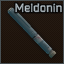 Meldonin injector