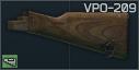 VPO-209 Molot Ahşap Dipçik